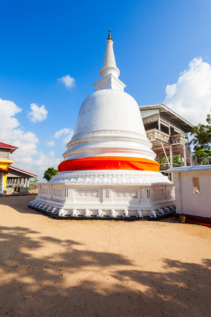 ceylon: Buddangala Rajamaha Viharaya Temple or Buddangala Monastery is a buddhist temple and monastery in Ampara, Sri Lanka