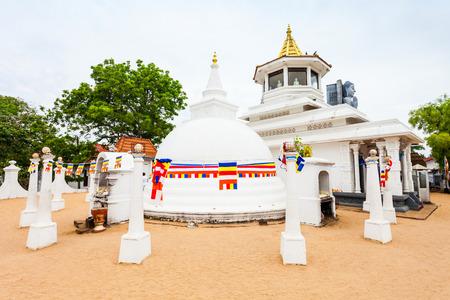 Uthpalawanna Sri Vishnu Devalaya Temple in Devinuwara near Matara, Sri Lanka Фото со стока