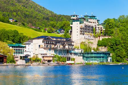 St wolfgang catholic church or pfarrkirchen wallfahrtskirche hotels in st wolfgang im salzkammergut austria photo sciox Images