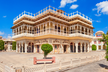 Mubarak Mahal Palace (City Palace) in Jaipur, India