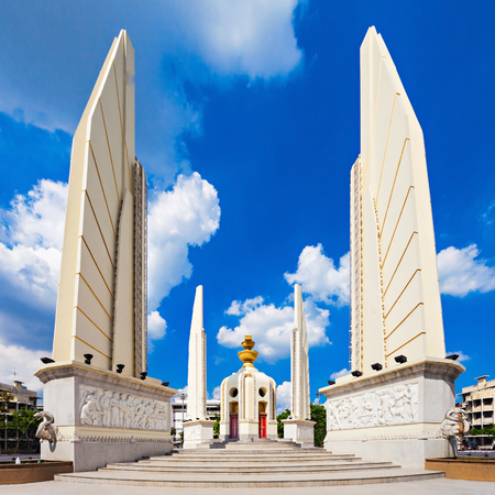 The Democracy Monument is a public monument in the centre of Bangkok.