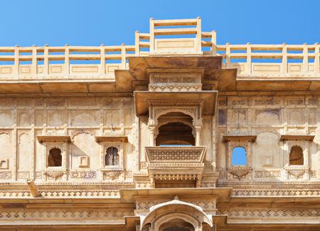 Patwon ki Haveli in Jaisalmer, Rajasthan state in India