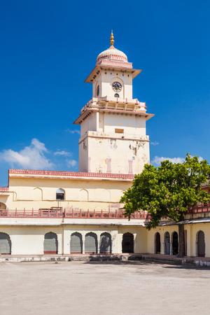 Chandra Mahal Palace (City Palace) in Jaipur, India Stock Photo