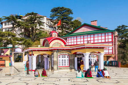 Kali Bari Temple is s famous pilgrim centre in Shimla, Himachal Pradesh state of India