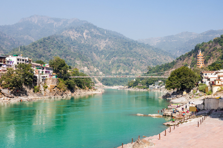 Rishikesh is a city in nothern India.