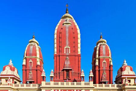 dome of hindu temple: Laxmi Narayan temple, New Delhi, India
