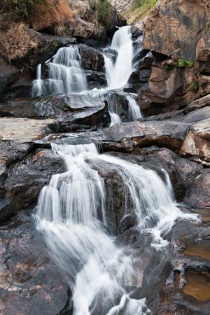 karnataka: Athukadu waterfall, Munnar, Karnataka state, India