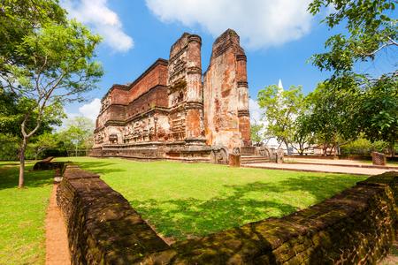 Polonnaruwa Lankathilaka Image House is a monolithic Buddha image house built by king Parakramabahu in Polonnaruwa, Sri Lanka