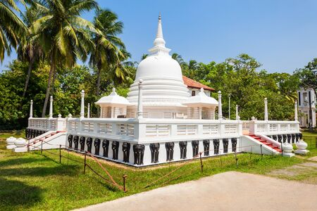 Abhayasekararama Temple is a buddhist temple in Negombo. Negombo is a major city on the west coast of Sri Lanka.