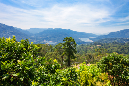 The Kotmale Dam is a hydroelectric and irrigation dam in Kotmale, Sri Lanka. Kotmale Dam is the second largest hydroelectric power  station in Sri Lanka.