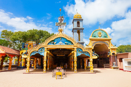 Selva Sannidhi Murugan Kovil 사원은 스리랑카의 Jaffna 근처에있는 힌두교 사원입니다.