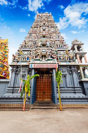 Sri Kaileswaram Temple or Sri Kailawasanathan Swami Devasthanam Kovil is a main hindu temple in Colombo, Sri Lanka 写真素材