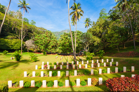 Kandy second world war cemetery is a British military cemetery in Kandy, Sri Lanka. Cemetery is for soldiers of the British Empire who were killed during World War II. Editorial
