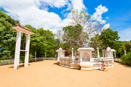 Buduruwagala ancient buddhist temple in Sri Lanka Stock Photo