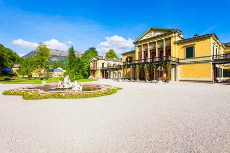 Kaiservilla in Bad Ischl, Austria. Kaiservilla was the summer residence of Emperor Franz Joseph and Empress Sisi Elisabeth of Austria. Editorial