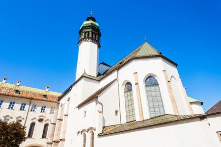 The Innsbruck Hofkirche or Court Church is a Gothic church located in the Altstadt Old Town in Innsbruck, Austria
