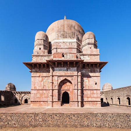 Old Mosque in Mandu, Madhya Pradesh, India Stock Photo