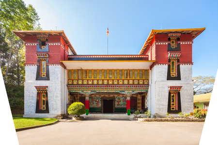 Namgyal Institute of Tibetology is a Tibet museum in Gangtok, Sikkim state in India