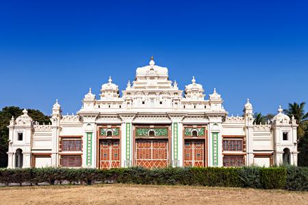 Jagan Mohan Palace in Mysore, Karnataka, India Stock Photo