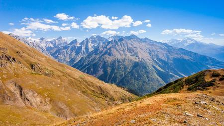 Greater Caucasus is the main mountain ridge of the Caucasus Mountains.
