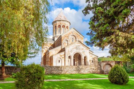 Saint Nino Bodbe Monastery near Sighnaghi, Georgia Stok Fotoğraf