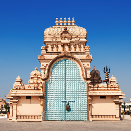 Shri Adhya Katyani Shakti Peeth Mandir is popularly known as Chhatarpur Temple Фото со стока