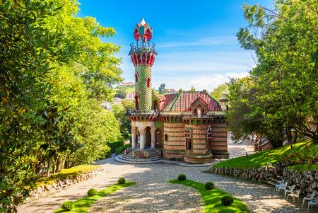 El Capricho is a building, designed by Antoni Gaudi, located in in Comillas in Cantabria region of Spain Editorial