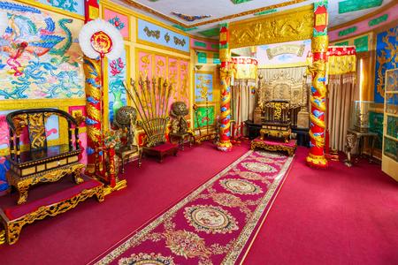 DALAT, VIETNAM - MARCH 12, 2018: Bao Dai Summer Palace in Dalat city in Vietnam Editorial