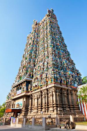 Menakshi Temple, Madurai, Tamil Nadu, India