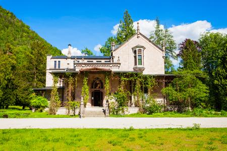 Photo Museum at the Kaiservilla in Bad Ischl, Upper Austria. Kaiservilla was the summer residence of Emperor Franz Joseph and Empress Sisi Elisabeth of Austria.
