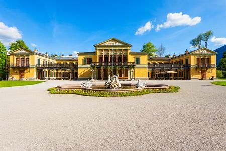 Kaiservilla in Bad Ischl, Austria. Kaiservilla was the summer residence of Emperor Franz Joseph and Empress Sisi Elisabeth of Austria.