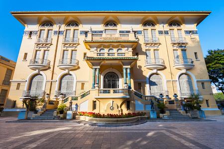 Le musée des beaux-arts de Ho Chi Minh-Ville est le principal musée d'art de Ho Chi Minh-Ville au Vietnam Éditoriale