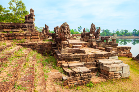 Srah Srang is a temple at Angkor in Siem Reap in Cambodia