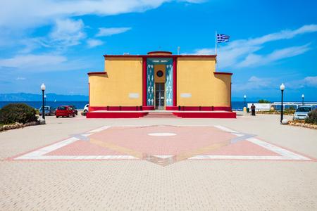 Rhodos-Aquariumgebäude auf der Insel Rhodos in Griechenland
