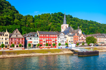 Sankt Goar is a town on the west bank of the Middle Rhine in Germany
