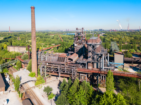 Landschaftspark is an industrial public park located in Duisburg, Germany