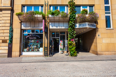 COLOGNE, GERMANY - JUNE 30, 2018: Farina Fragrance Museum is one of the major museums in Cologne, Germany