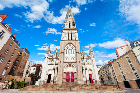 Basilica of St. Nicholas of Nantes is a neo gothic church located in the center of Nantes city in France