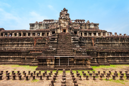 The Baphuon is a temple at Angkor, Cambodia. Baphuon is located in Angkor Thom, northwest of the Bayon.