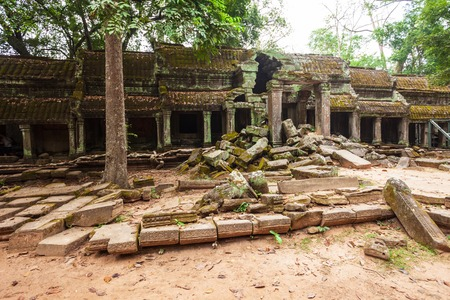 Ta Prohm or Prasat Taprohm is the temple at Angkor in Siem Reap in Cambodia