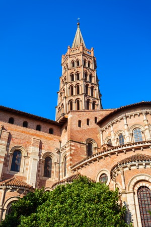Basilica of Saint Sernin is a Roman Catholic church in Toulouse, France