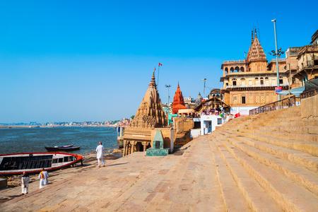 Ratneshwar Mahadev Temple or Leaning temple is located in Varanasi in Uttar Pradesh, North India