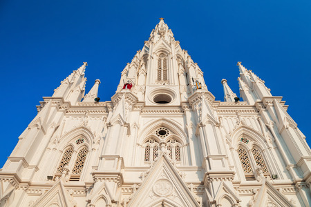 Our Lady of Ransom Church is a Catholic church located at Kanyakumari city in Tamil Nadu state of India Reklamní fotografie