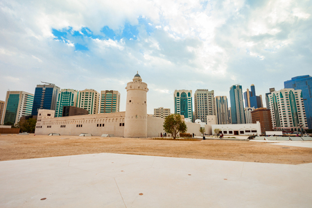 Qasr Al Hosn or White Fort is the oldest stone building in the city of Abu Dhabi, the capital of the United Arab Emirates