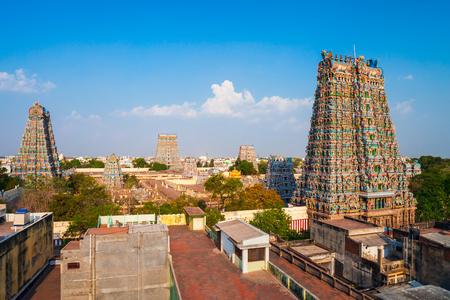 Meenakshi Amman Temple is a historic hindu temple located in Madurai city in Tamil Nadu in India