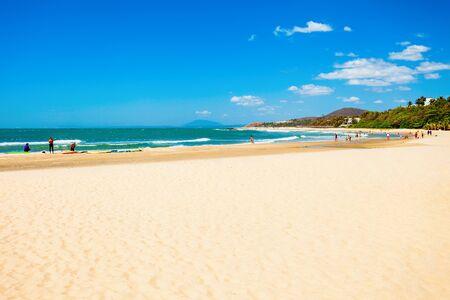Beauty beach in Mui Ne or Phan Thiet in Vietnam
