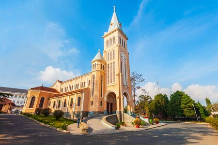 The St. Nicholas Cathedral is a Roman Catholic church in Dalat in Vietnam