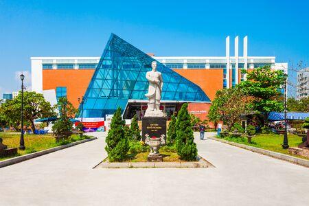 DANANG, VIETNAM - MARCH 18, 2018: Da Nang City Museum of Cham Sculpture or Bao Tang in Danang in Vietnam Editorial