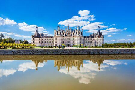 Chateau de Chambord is the largest castle in the Loire valley, France Banque d'images - 129569294