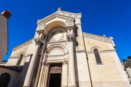Basilica of St. Martin is a Roman Catholic church in Tours, Loire valley of France